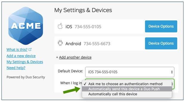 Enable Automatic Authentication